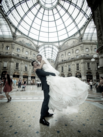 Milan elopement photographer