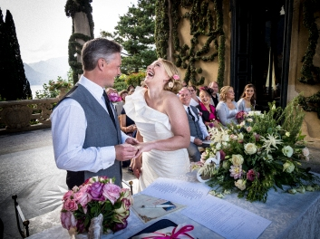 Wedding photographer villa Balbianello
